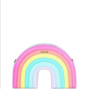 Skinnydip London rainbow bag